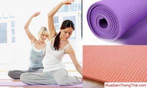 Kinh nghiệm nên mua thảm tập Yoga loại nào tốt nhất 3