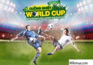 khuyến mại Tivi tốt nhất cho World Cup 2018 2