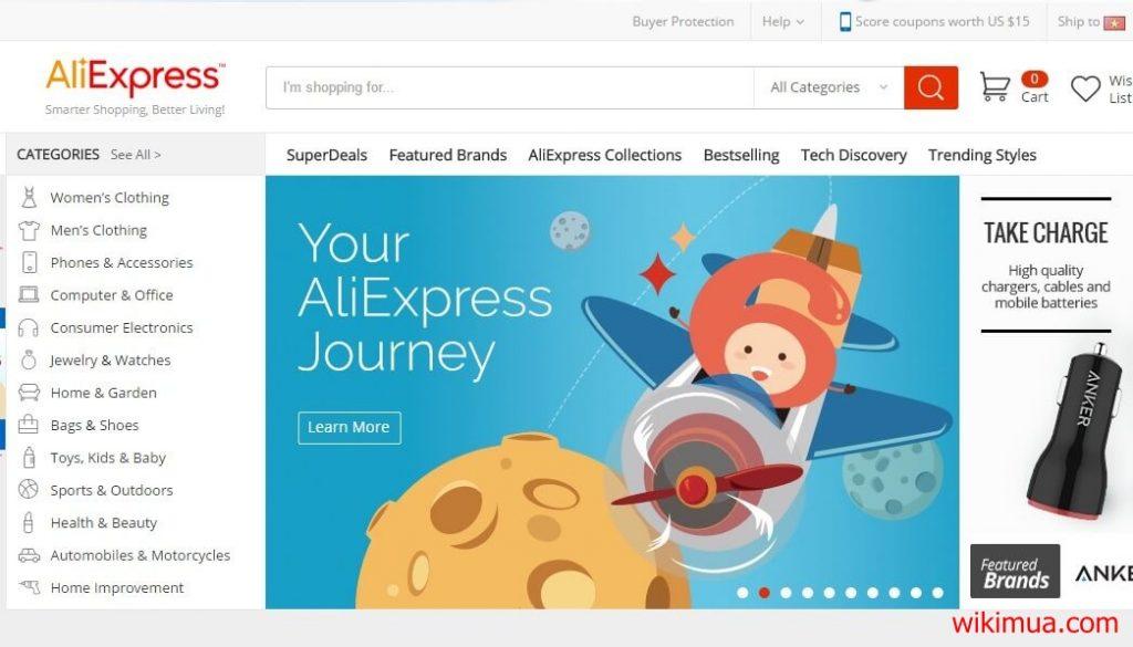Hướng dẫn mua hàng trên AliExpress ship về Việt Nam 1