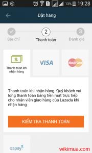 Hướng dẫn mua hàng trên ứng dụng Lazada 8