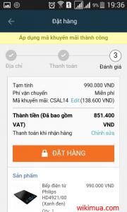 Hướng dẫn mua hàng trên ứng dụng Lazada 9