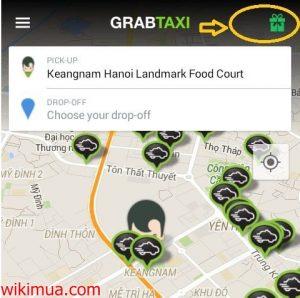 Hướng dẫn cách lấy một số mã khuyến mại GrabTaxi 1