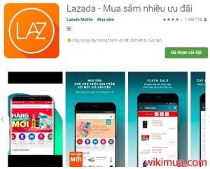 Hướng dẫn mua hàng trên ứng dụng Lazada 1